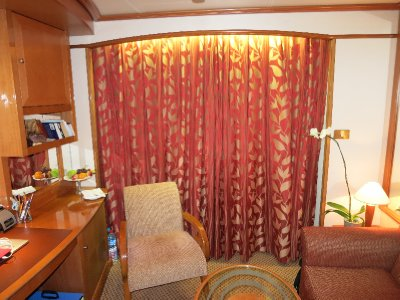 Closed cabin curtains