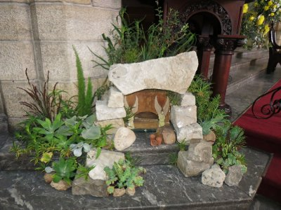 Empty tomb at St. George's, Cape Town