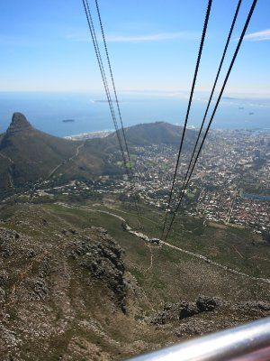From the Table Mountain cable car