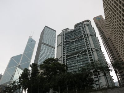 HK SKYSCRAPERS