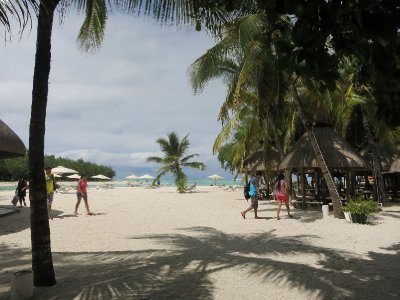 Mauritius beach