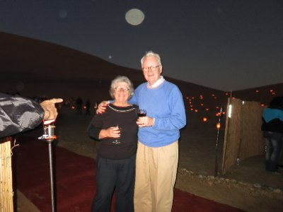 Namibia with luminaria