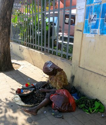Street Merchant, Maputo,Mozambique