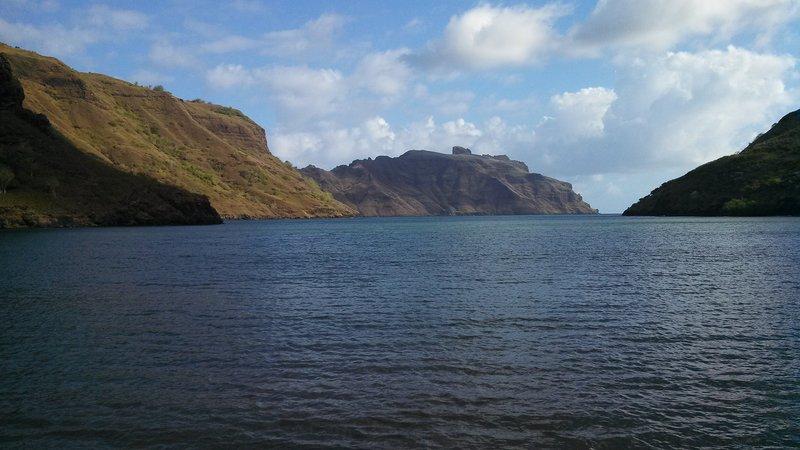Harbor in nuku Hiva