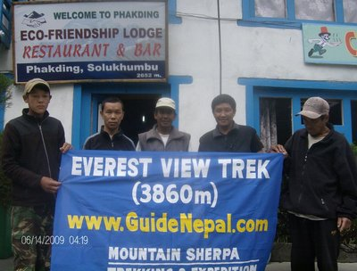 Everest Base Camp Trekking, Trek to Everest Base Camp-Mountain Sherpa Trekking