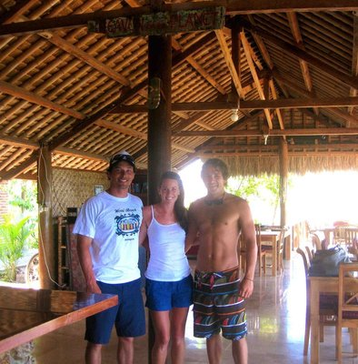 KT, Lukin, CJ at Lombok