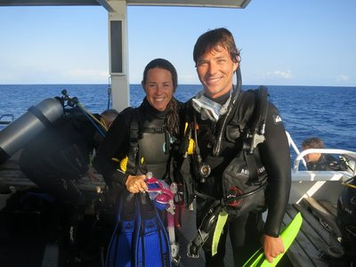 KT & Lukin Great Barrier Reef dive