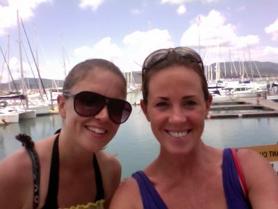Nessa and KT in Whitsundays