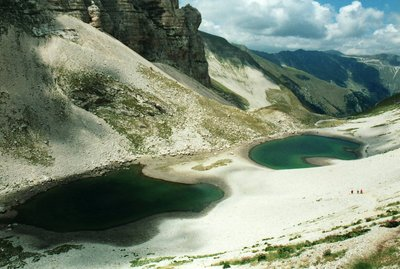 Pilato lakes-on Sibillini mountains