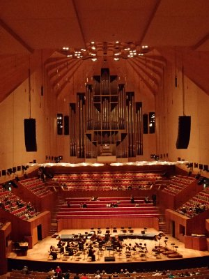 Interior of the opera house (look at that organ!!)