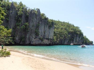 Palawan coastline