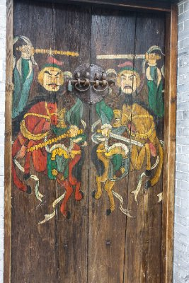 Hand painted heritage door