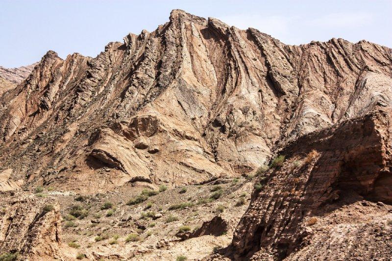 Kizil Tian Shan Foothills 13 and Taklamaka Desert