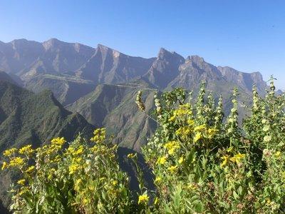 Simien Mountains escarpment