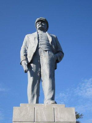 Ubiquitous Lenin statue