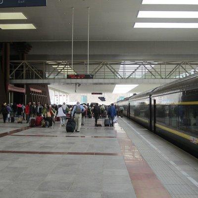 Train Station Lhasa