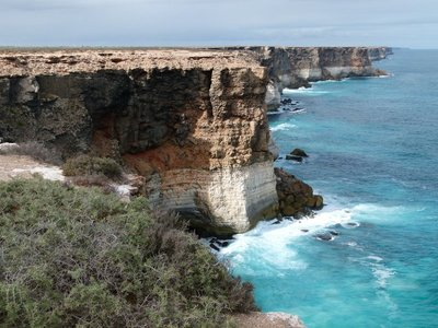 Cliffs at Great Australian Bight