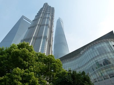 Pudong buildings