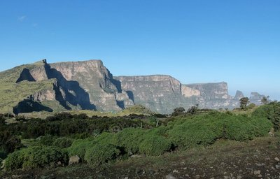 Simien Mountains escarpment