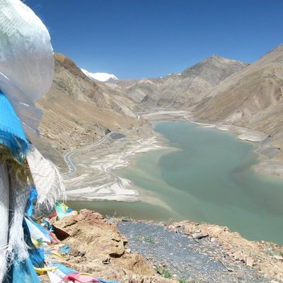 The road to Kailash