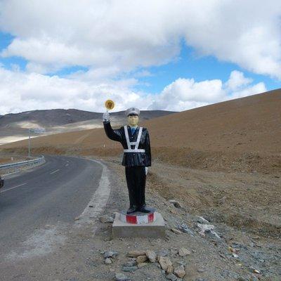 Sentinel of the roads