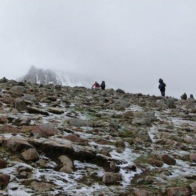 The ascent to Drolma La Pass