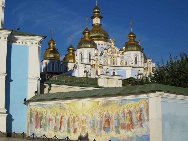 Entrance to Lavra's Grand Church