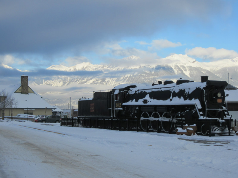 Locomotive at Jasper