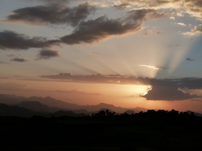 Sunset from Mulit