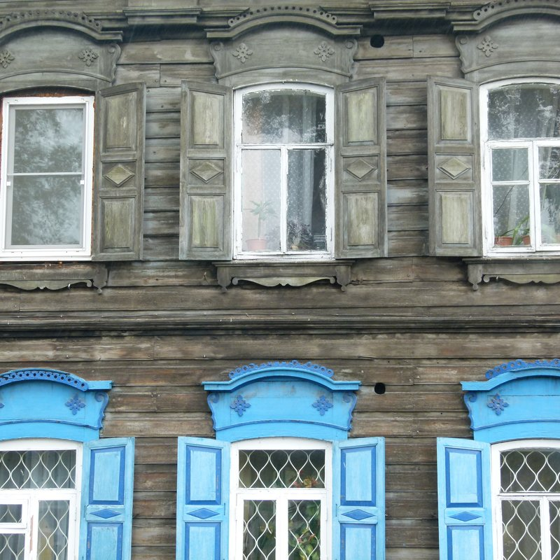 Irkutsk wooden building