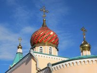 Dome of new orthodox church
