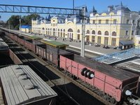 Tomsk I Train Station