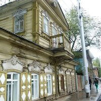 Irkutsk wooden house