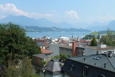 Lucerne from old town wall