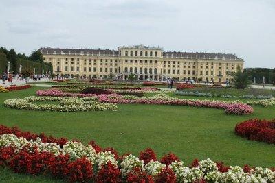 rear of Schonbrunn Palace
