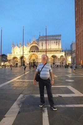 Me at St Marks Square