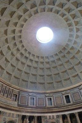Opening in the Pantheon dome