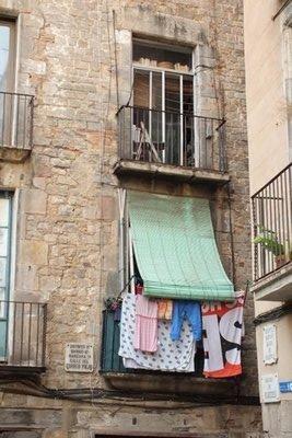 Balcony & washing