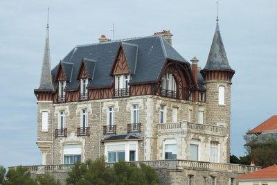 a hotel in Biarritz