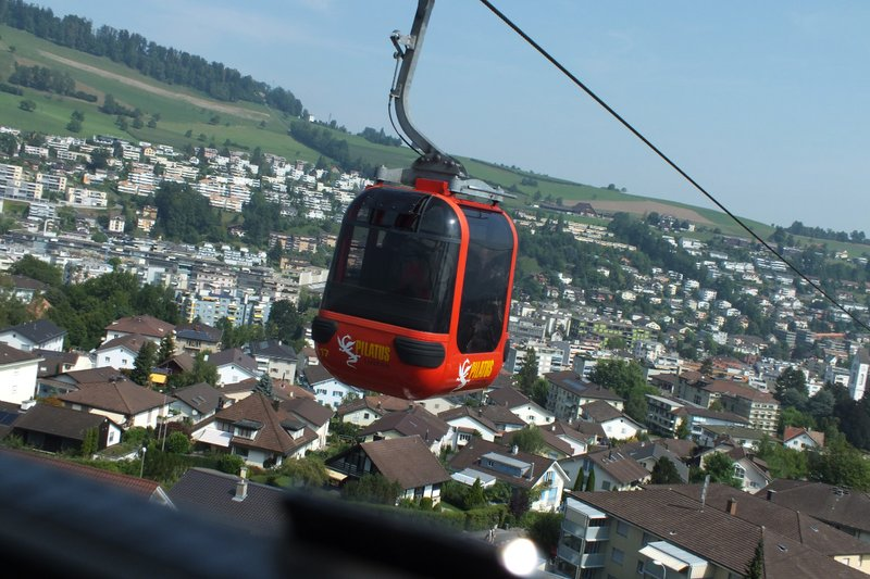 gondola Mt Pilatus