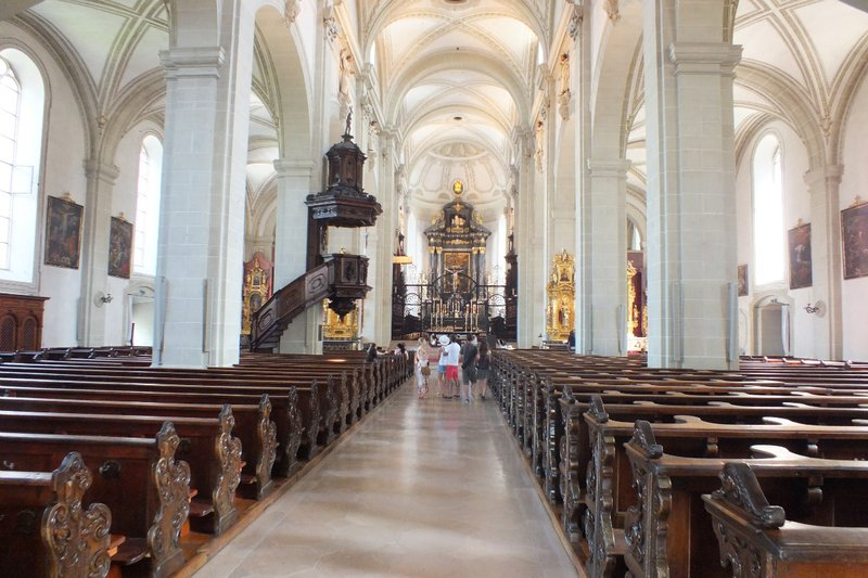 cathedral Lucerne - interior