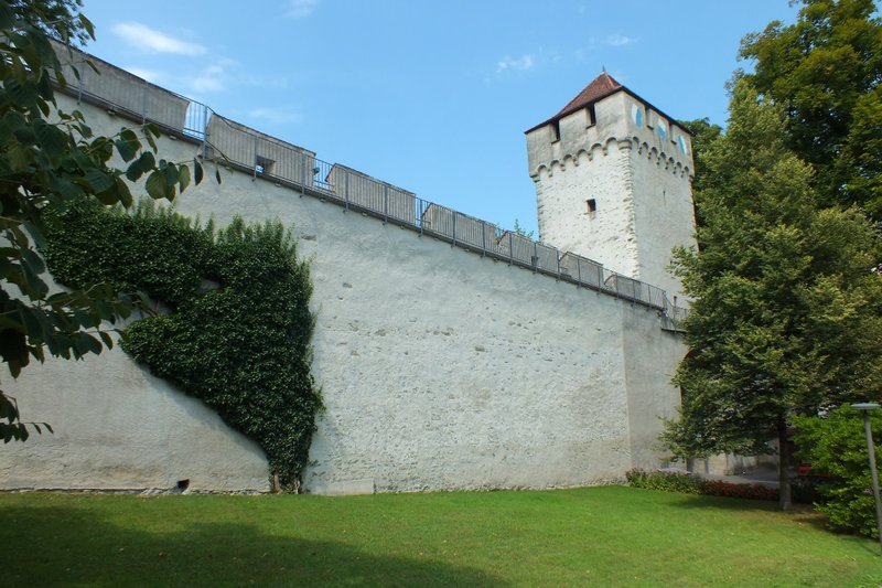 old town wall Lucerne