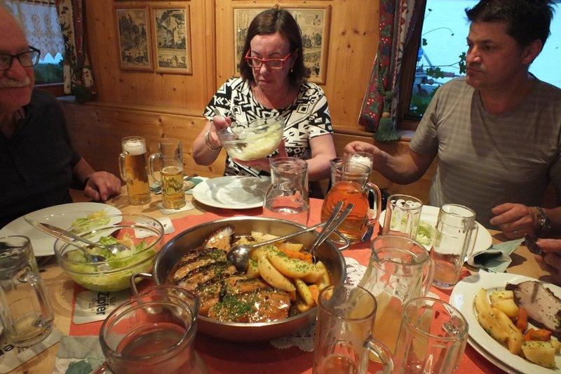 farmhouse dinner