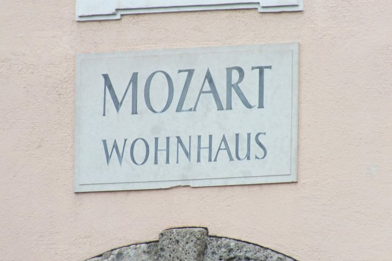 one of Mozarts homes