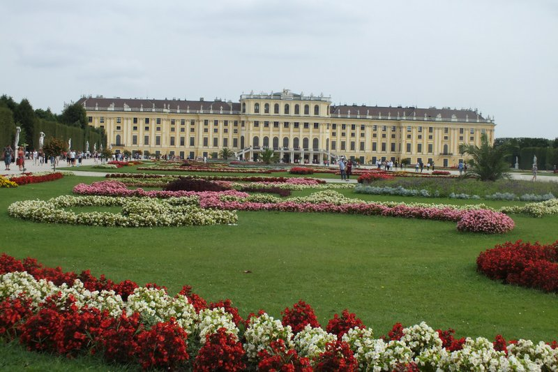 rear of Schonbrunn Palace