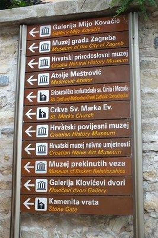 Croatian sign