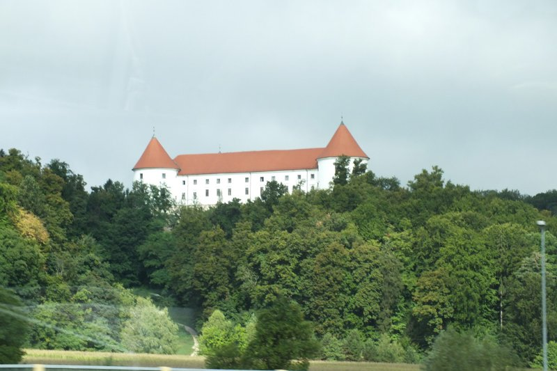 one of many castle we pass each day