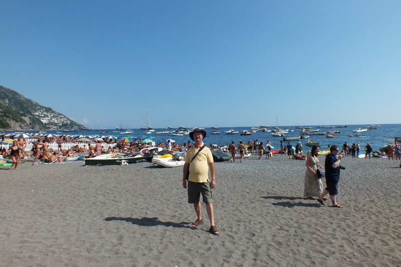 me on Positano beach