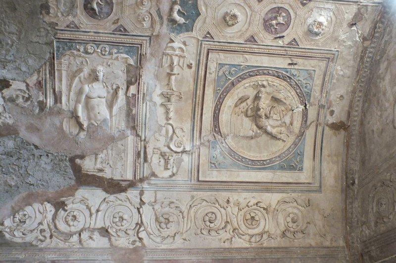 Pompeii mural