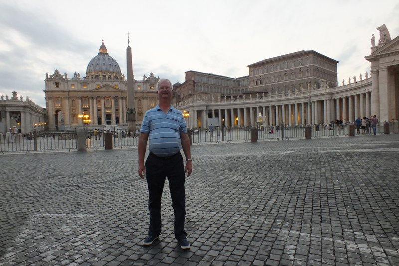 The Vatican at evening